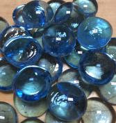 Sun and Moon Glass Gems/ Sky Blue, Small