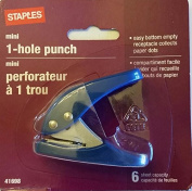 Staples mini 1-hole punch