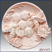 Oriental Zodiac Sign - Rabbit - Detail of High Relief Sculpture - Silicone Soap/polymer/clay/cold Porcelain Mould