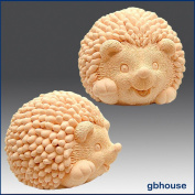 Hedgehog baby - 3d Soap/candle/polymer/clay/cold Porcelain Silicone Mould