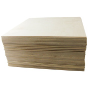 0.3cm X 30cm X 60cm Baltic Birch Plywood Great for Laser, Cnc, and Scroll Saw. 20pc Woodpeckers®
