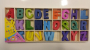 Colourful Wooden A to Z Alphabets 26X5 Letters