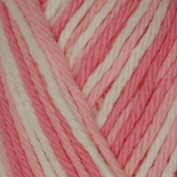 Lily Sugar 'n Cream Yarn Ombre (00144) Strawberry