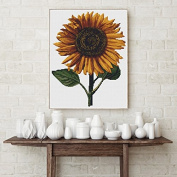 Sunflower Counted Cross Stitch Kit