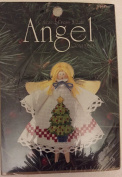"Counted Cross Stitch Angel Ornament ""Tree"""