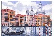 Italian Canoe Cross Stitch Kits,egypt Cotton,14ct,54x45 Cm 238x195 Stitch Counted Cross Stitch Kit