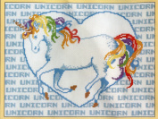 Sunset Counted Cross Stitch Kit 2961 Colour Me Unicorn by Cheryl Ruehle