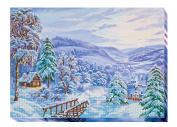 """Beaded DIY Embroidery Kit """"Winter morning"""""""