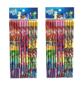 Disney Inside Out Pencils 24 Pieces
