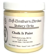 Chalk It Paint Finish for furniture, Art, Crafts, and More! Buttery Grits 240ml