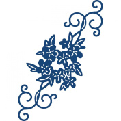 Tattered Lace Metal Die, DITSY Flower Flourish