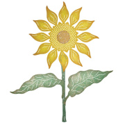 Cheery Lynn Designs B663 Sunflower Set Scrapbooking Die Cuts