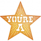 Cheery Lynn Designs B694 You're A Star Scrapbooking Die Cuts