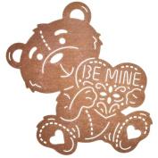 Cheery Lynn Designs B674 Be Mine Teddy Bear Scrapbooking Die Cuts