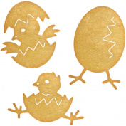 Cheery Lynn Designs B662 Chicks 2 Scrapbooking Die Cuts