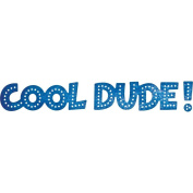 Cheery Lynn Designs B693 Cool Dude Scrapbooking Die Cuts