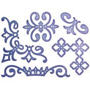 Cheery Lynn Designs B686 Royal Scandinavian Accents Scrapbooking Embellishments