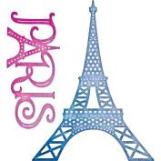 Cheery Lynn Designs B657 Paris Eiffel Tower Set Scrapbooking Embellishments