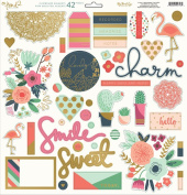 My Minds Eye On Trend 2 Chipboard Elements