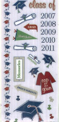Large Sticker Sheet - GRADUATION CLASS OF