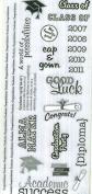 Large Sticker Sheet - GRADUATION