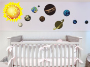 Solar System Planets Removable Art Vinyl Wall Decal Stickers Baby Nursery