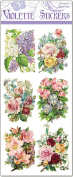 Pastel Flower Bouquet Labels