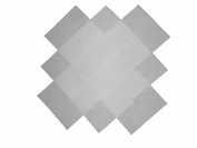 "25cm - 25cm Beautiful Solid White ""Dream Cotton"" Solids Layer Cake Quilting fabric squares"