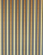 Feline Fine~Brown Stripe~ by Wilmington Prints~ Cotton Fabric for Sewing and Quilting