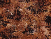 1 Yard Marblehead Northern Woods Bear by Ro Gregg from Paintbrush Studios 100% Cotton Quilt Fabric 120-5651