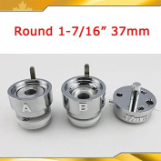 Asc365 Round 32mm Interchangeable Die Mould for Pro Badge Button Maker
