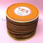 Oak Leather Belt For Sewing Machines 0.6cm Wide, 30m Roll