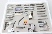 Annic Professional 32 PCS Sewing Feet Machine Presser Tool Set for Brother, Babylock, Singer, Janome with Storage Case