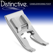 Distinctive Candlewicking Sewing Machine Presser Foot - Fits All Low Shank Snap-On Singer*, Brother, Babylock, Euro-Pro, Janome, Kenmore, White, Juki, New Home, Simplicity, Elna and More!