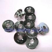 Cutex Brand Singer Quantum CXL Xl Sewing Machine Metal Bobbins #283395 - Pack of 10