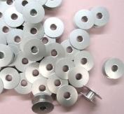 Cutex Brand 20 Aluminium Bobbins Industrial Single Needle Sewing Machines #272152
