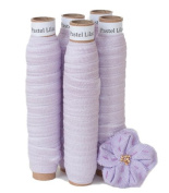 5 Yards of Pastel Lilac - 1.6cm Fold Over Elastic - ElasticByTheYardTM