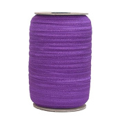 100 Yards of Sugar Plum 1.6cm Fold Over Elastic - ElasticByTheYardTM
