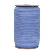 100 Yards of Sleepy Blue 1.6cm Fold Over Elastic - ElasticByTheYardTM