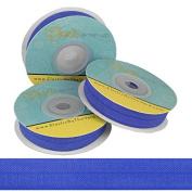 5 Yards of Sapphire Blue - 1.6cm Fold Over Elastic - ElasticByTheYardTM