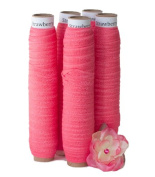 5 Yards of Strawberry Pink - 1.6cm Fold Over Elastic - ElasticByTheYardTM