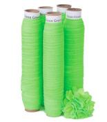 5 Yards of Neon Green - 1.6cm Fold Over Elastic - ElasticByTheYardTM