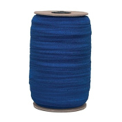 100 Yards of Navy 1.6cm Fold Over Elastic - ElasticByTheYardTM