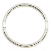"5 Pcs 76mm 3"" Metal O-rings O Rings Non Welded Nickel"