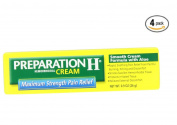 Preparation H Hemorrhoidal Cream, Maximum Strength Pain Relief