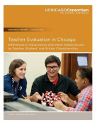 Teacher Evaluation in Chicago