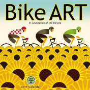 Bike Art 2017 Wall Calendar
