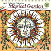 Magical Garden 2017 Coloring Calendar 2017 Wall Calendar