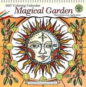 Magical Garden 2017 Coloring Calendar 2017 Wall Calendar