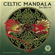 Celtic Mandala 2017 Wall Calendar